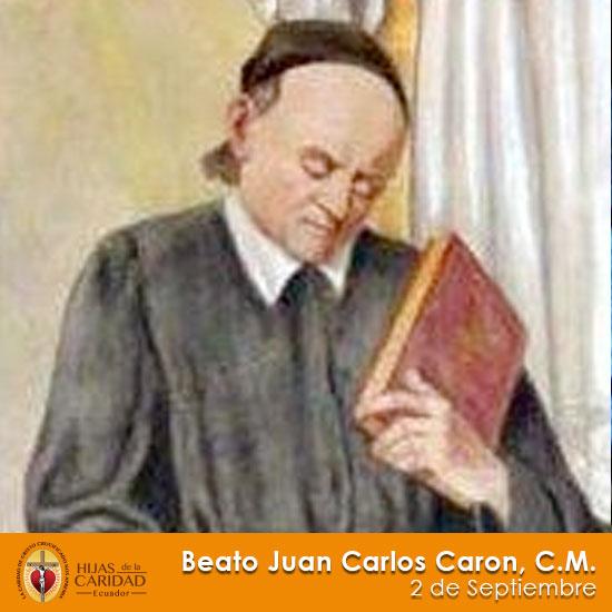 B. Juan Carlos Carón, C.M. – 2 de Septiembre
