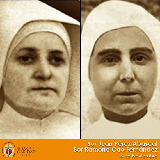 Beatas Sor Juana Pérez Abascal – Sor Ramona Cao Fernández – 6 de Noviembre
