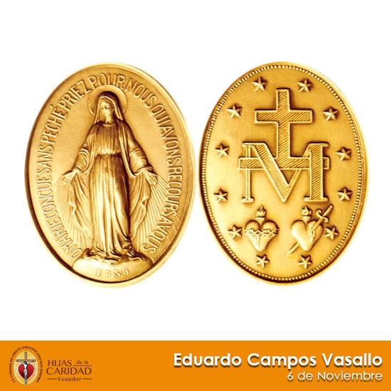 Beato Eduardo Campos Vasallo – 6 de Noviembre