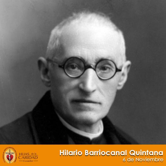 Beato P. Hilario Barriocanal Quintana – 6 de Noviembre