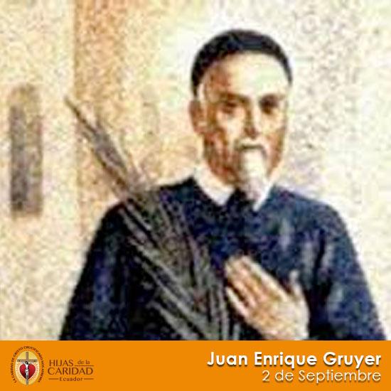 B. Juan Enrique Gruyer – 2 de septiembre