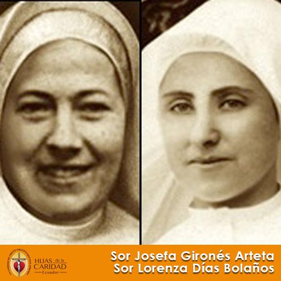 Beatas: Sor Josefa Gironés Arteta – Sor Lorenza Días Bolaños