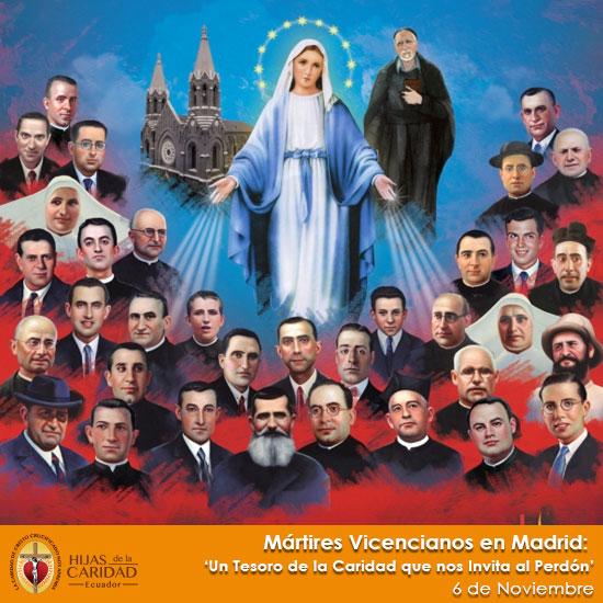 MÁRTIRES VICENCIANOS EN MADRID – 6 de Noviembre