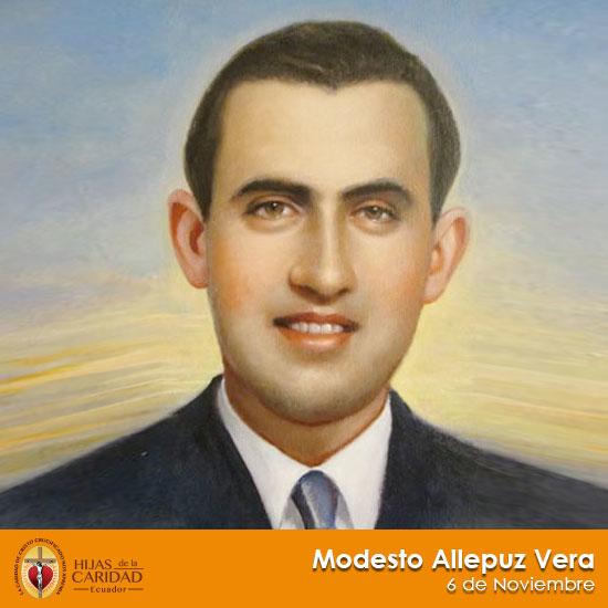 Beato Modesto Allepuz Vera – Seglar, Hijo de María de la Medalla Milagrosa 6 de Noviembre