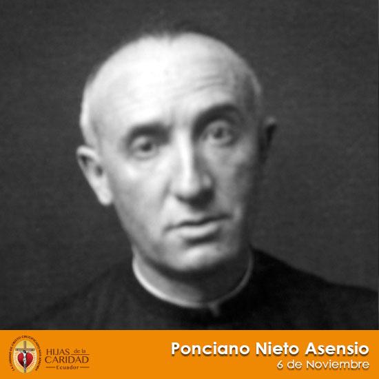 Beato P. Ponciano Nieto Asensio – 6 de Noviembre