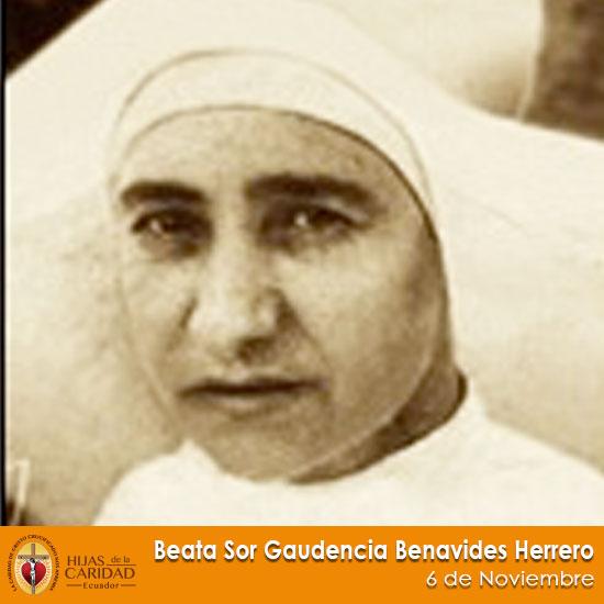 Beata Sor Gaudencia Benavides Herrero – 6 de Noviembre