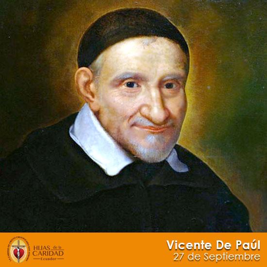 San Vicente de Paúl – 27 de Septiembre
